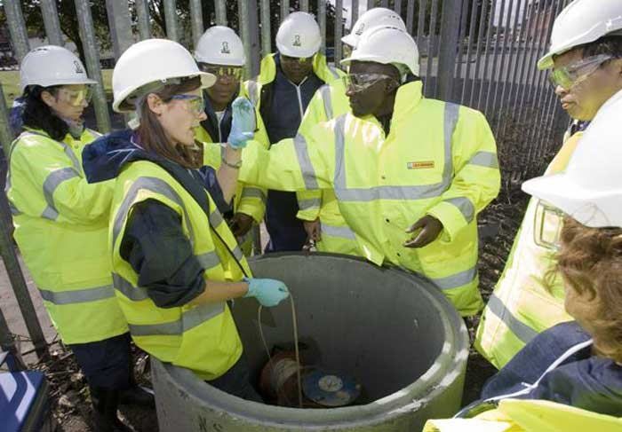 Remediation Professionals visit Poplin Street Site