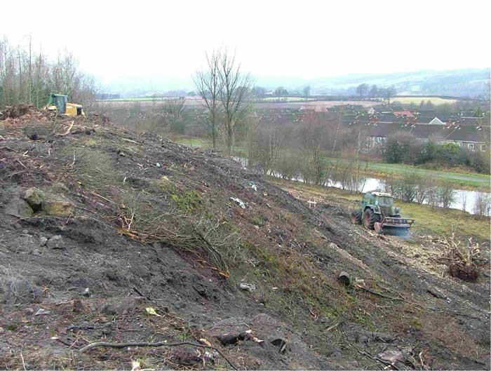 Remediation at Tamfourhill, Falkirk